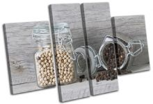 Spices Jars  Food Kitchen - 13-1065(00B)-MP17-LO